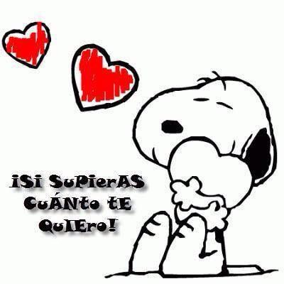 Si Supieras Cuanto Te Quiero Snoopy Fictional Characters Character