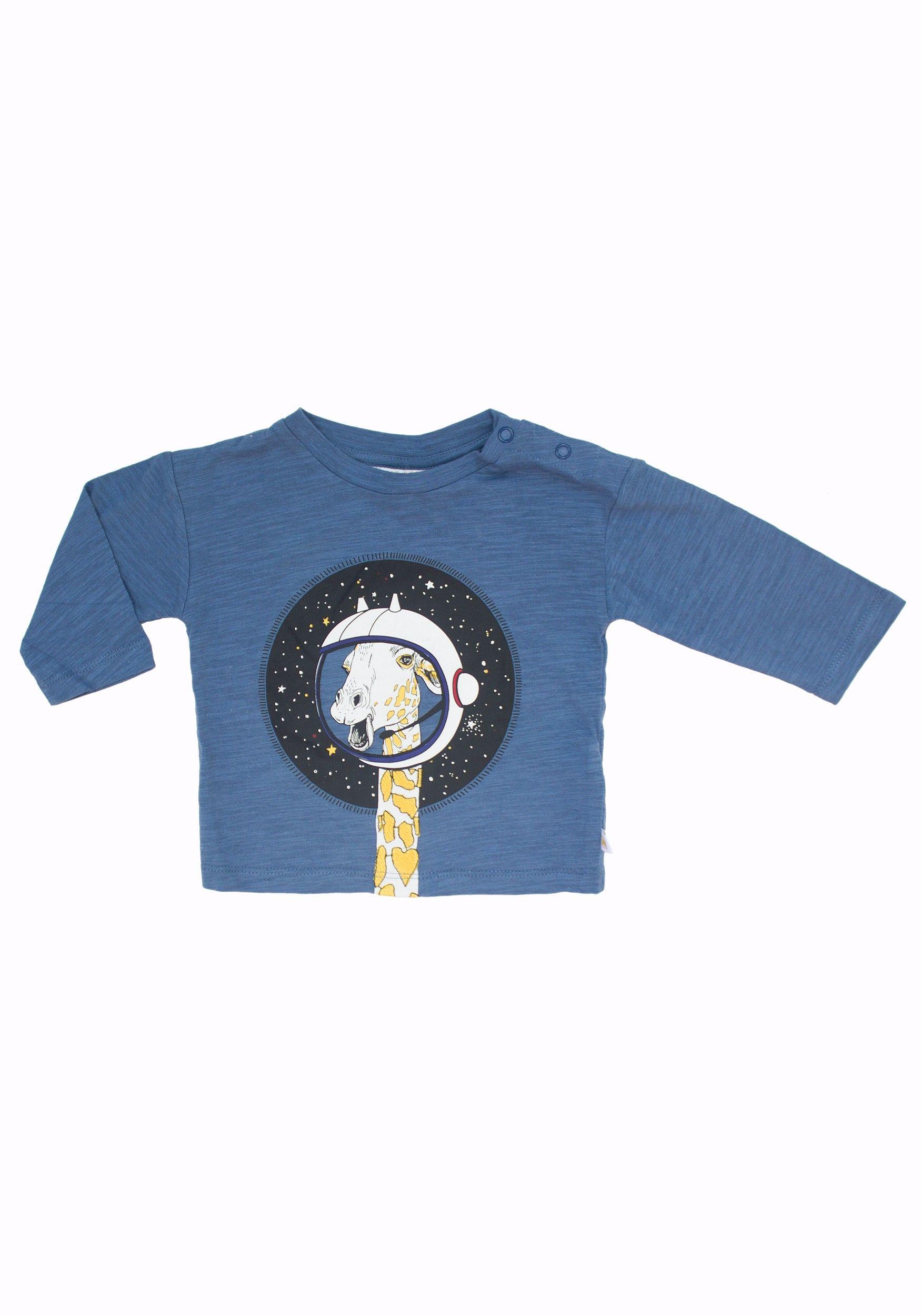 d9baf6732 Giraffe In Space Tee by Rosie Pope | Products | Giraffe shirt ...
