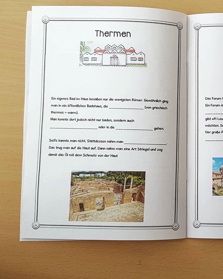 Wir Machen Uns Heute Auf Einen Spaziergang Durch Das Antike Rom Passend Dazu Hab Ich Den Kindern Ein Buddybook Erstellt Los Antikes Rom Mittelschullehrer Rom