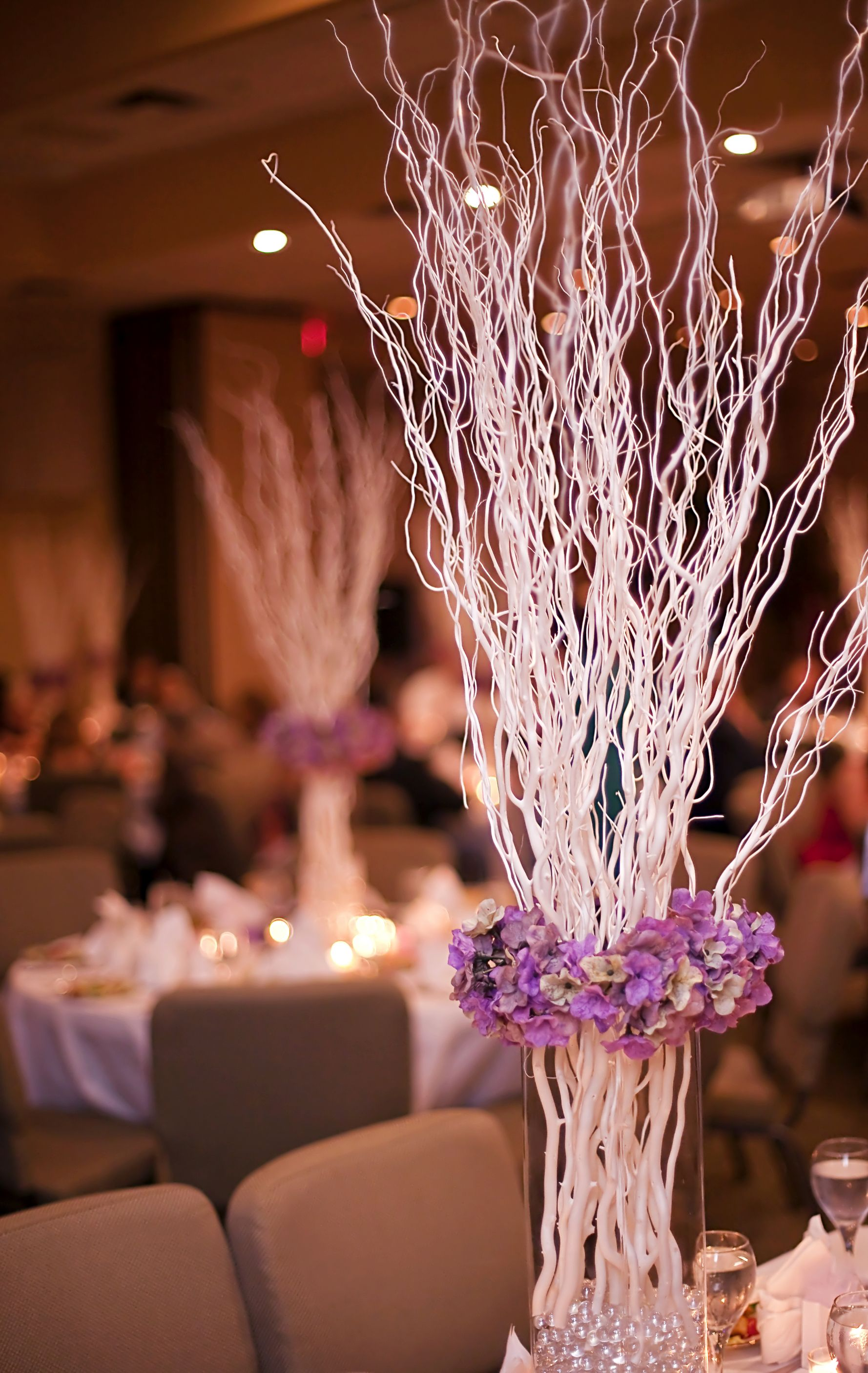 44+ Winter wedding tree centerpieces ideas