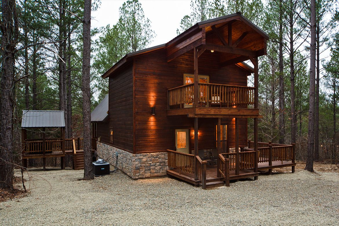 bow for luxury rent broken blue cabin vacation oklahoma beaver in cabins rentals ok