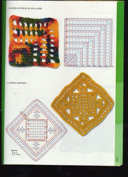 Gallery.ru / Foto # 30 - G 9 - accesorios | Motivos crochet lll ...