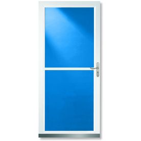 Larson Storm Door With Hidden Screen On Top I Had One Before And Definitely Want One Again 299 00 On Lowes Glass Storm Doors Storm Door Aluminum Storm Doors