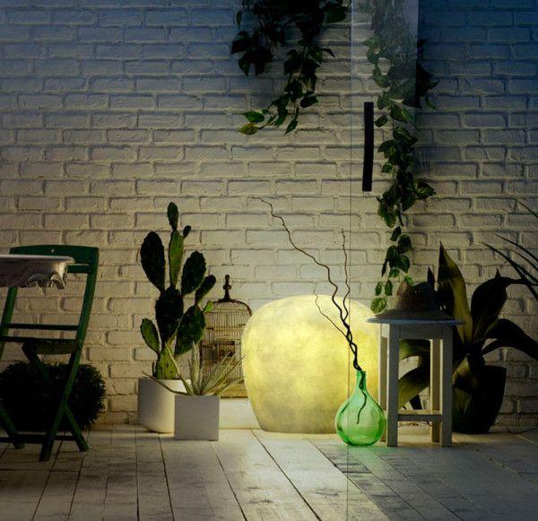 Fiberglass lamps