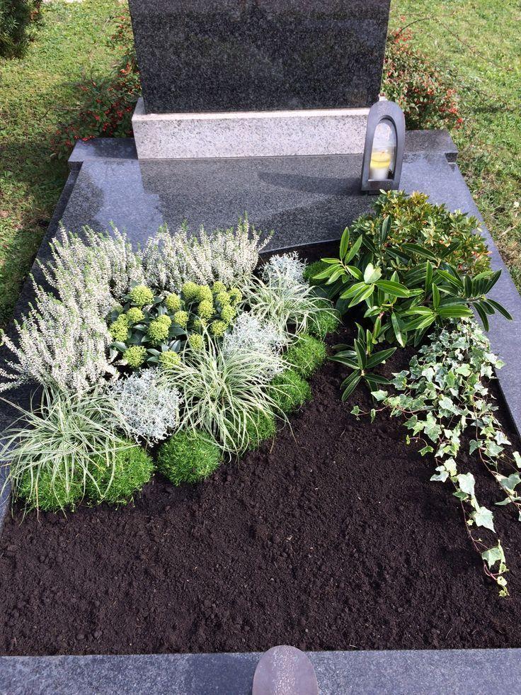 Grabgestaltung - Wintergarten Ideen #friedhofsblumen