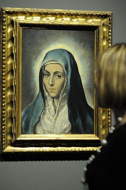 Pin By David Meneces On Tv Moderno: El Greco, Mater Dolorosa, 1590er Jahre, Öl Auf Leinwand