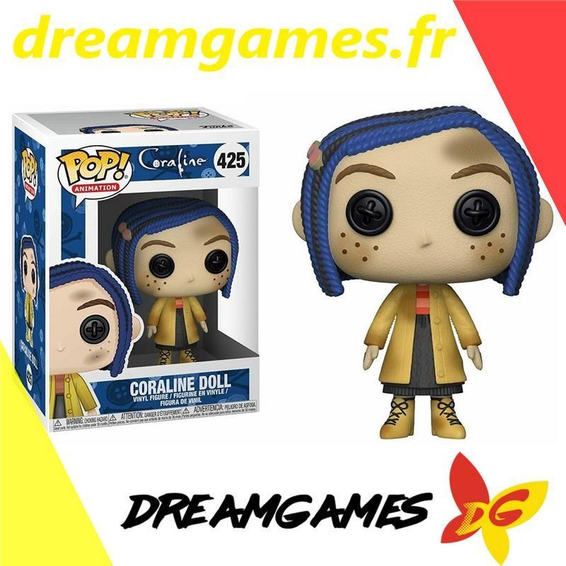 Figurine Pop Coraline 425 Coraline Doll 14 99 Coraline Doll Coraline Pop Figurine
