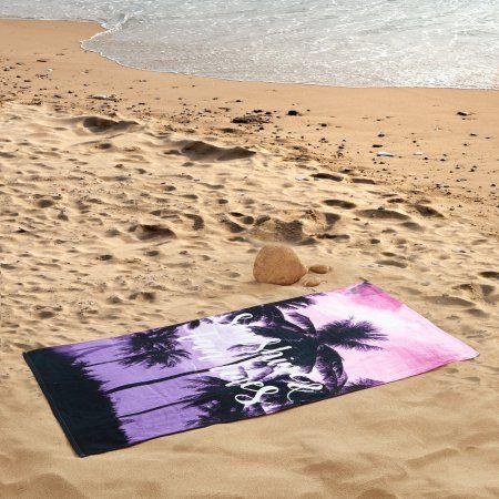 Mainstays Sunshine Tan Lines Beach Towel Beach Towel Tan Lines