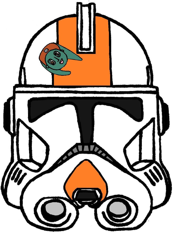 clone trooper commander cody helmet 2 clone trooper helmets