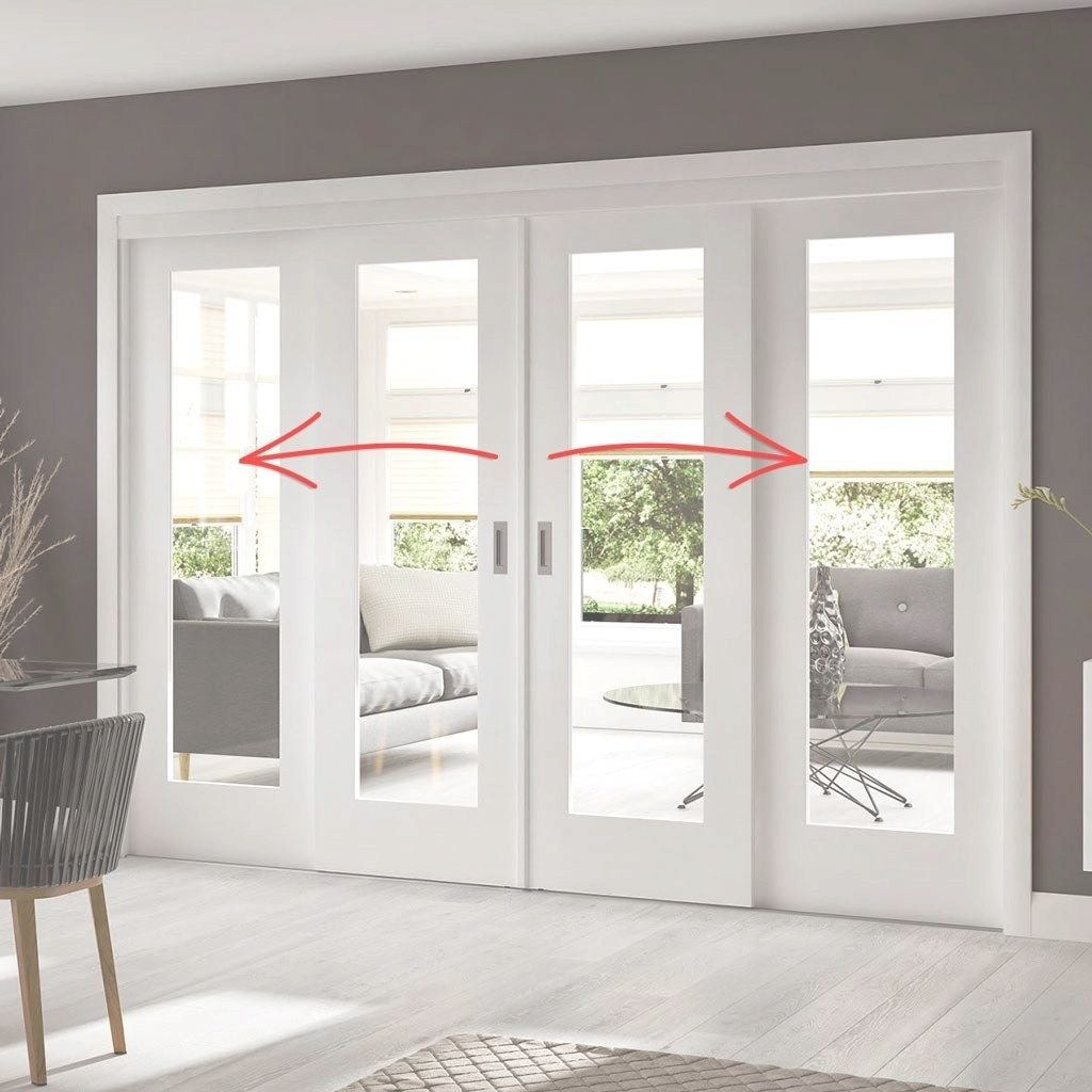 This Is Exactly What I Want To Replace My Large 3 Panel Door Wall Sliding Doors Exterior Sliding French Doors Sliding Doors Interior