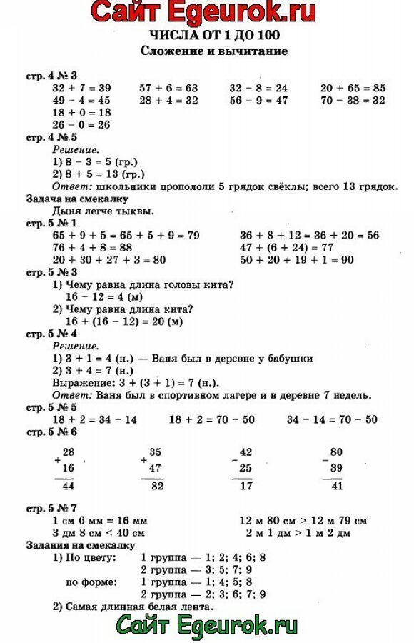 Гдз по математике 5 класс дорофеев шарыгин скчать торрент