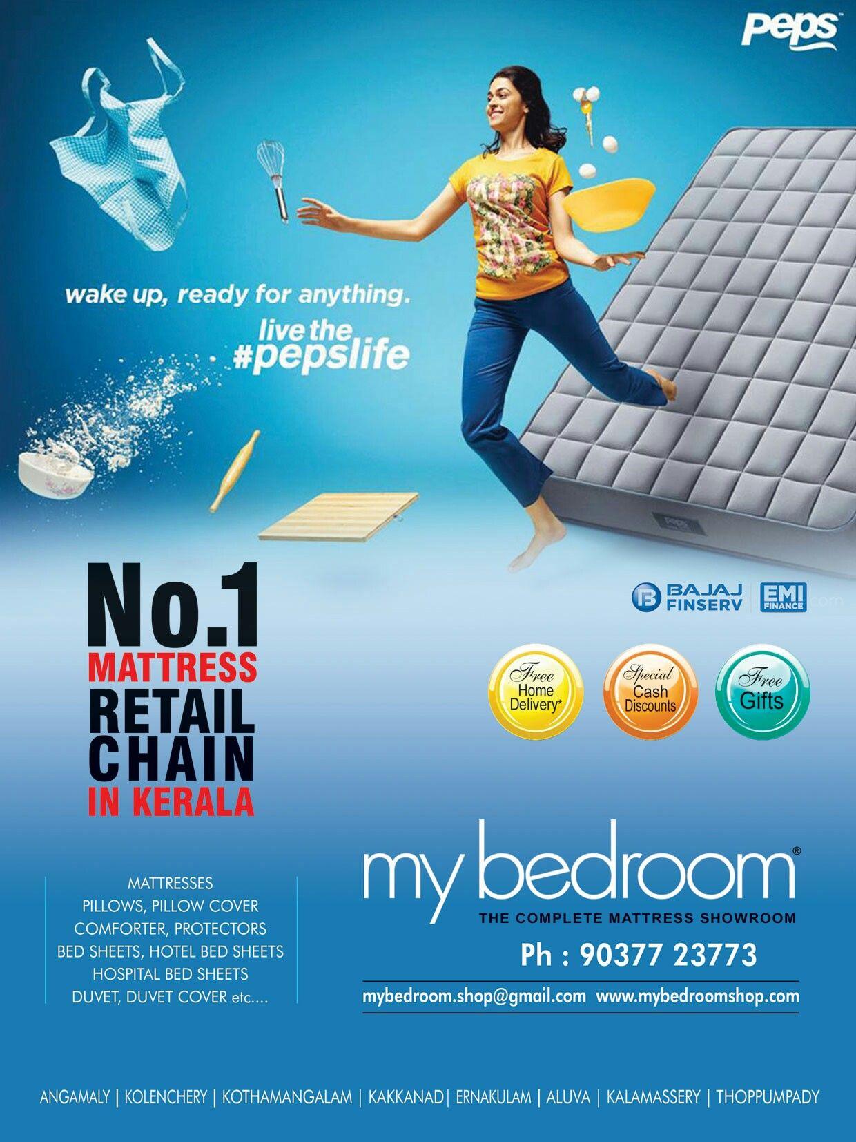 Peps Mattress Promotional Design Product Sales Design Social Media Poster