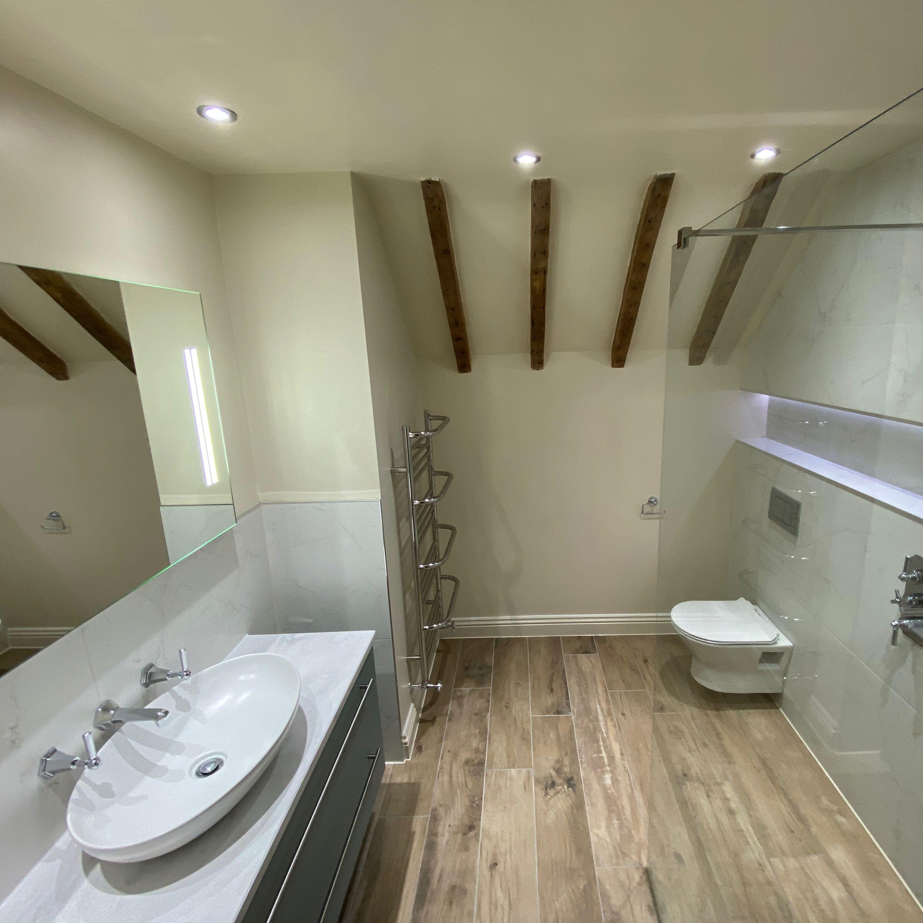 Spacious wetroom   Bathrooms remodel, Bathroom design ...