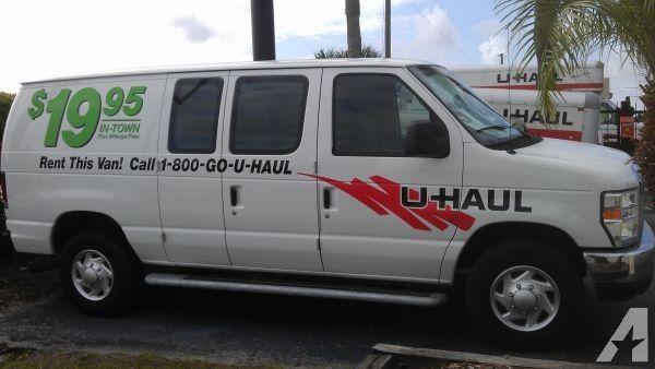 U Haul Cargo Van Van Cargo Van Haul
