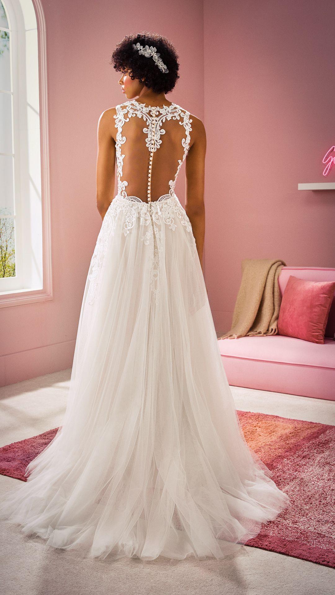 Hochzeitskleider 10 White One Kollektion Modell: NAIJA-C