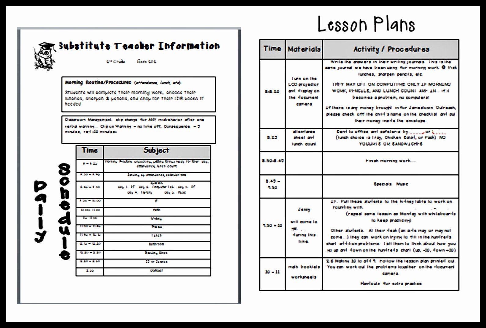 Teacher Lesson Plans Template Beautiful Lesson Plan