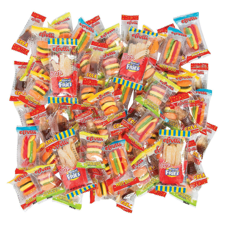 Efrutti food gummy candy mega mix oriental trading