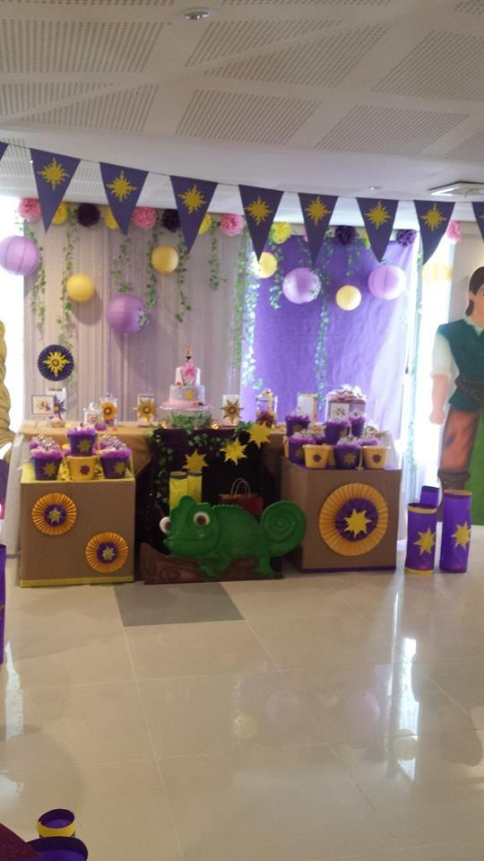 Mesa principal fiesta Rapunzel