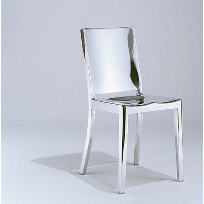 polished hudson chair phillipe starck emeco chic II