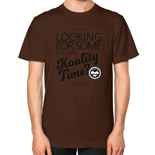 Koality Time Unisex T-Shirt (on man)