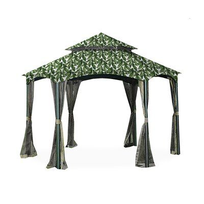 Garden Winds Southbay Hexagon Gazebo Replacement Canopy Hexagon Gazebo Replacement Canopy