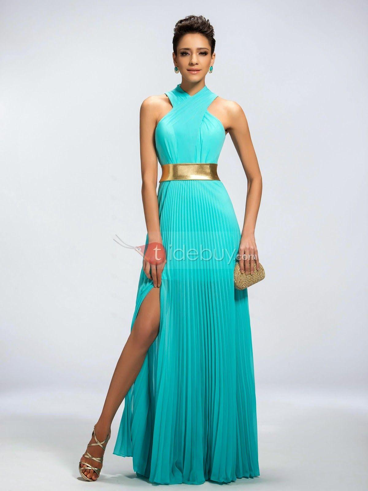 0157216ecb Exclusivos vestidos de noche formales para señoritas