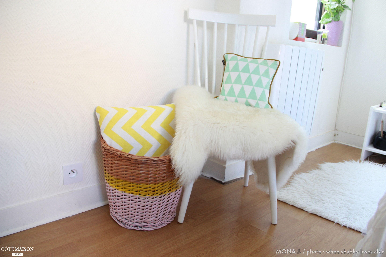 Une chambre colorée, cocooning et bohème.   Idées pour la ...