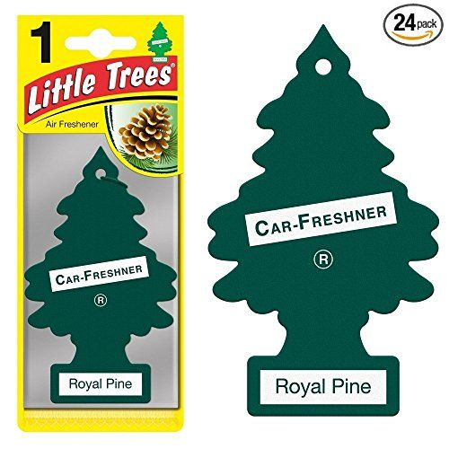 Little Trees Car Air Fresheners Royal Pine Scent 24 Pack See This Great Product Note It Is Affiliate Link To A Air Freshener Pine Air Freshener Car Freshener