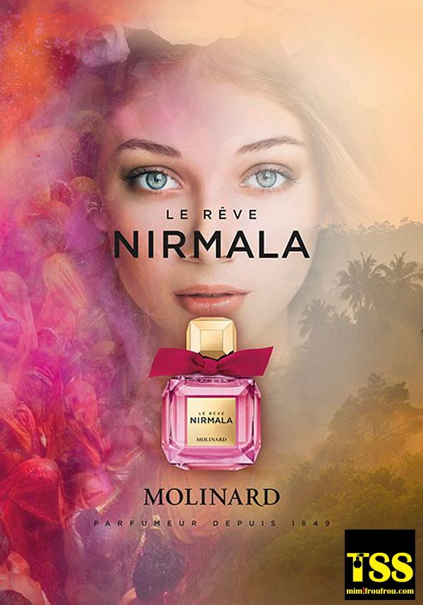 Molinard Nirmala Le Reve 2017 New Fragrance Perfume Images Ads Perfume Adverts Perfume Fragrance Advertising