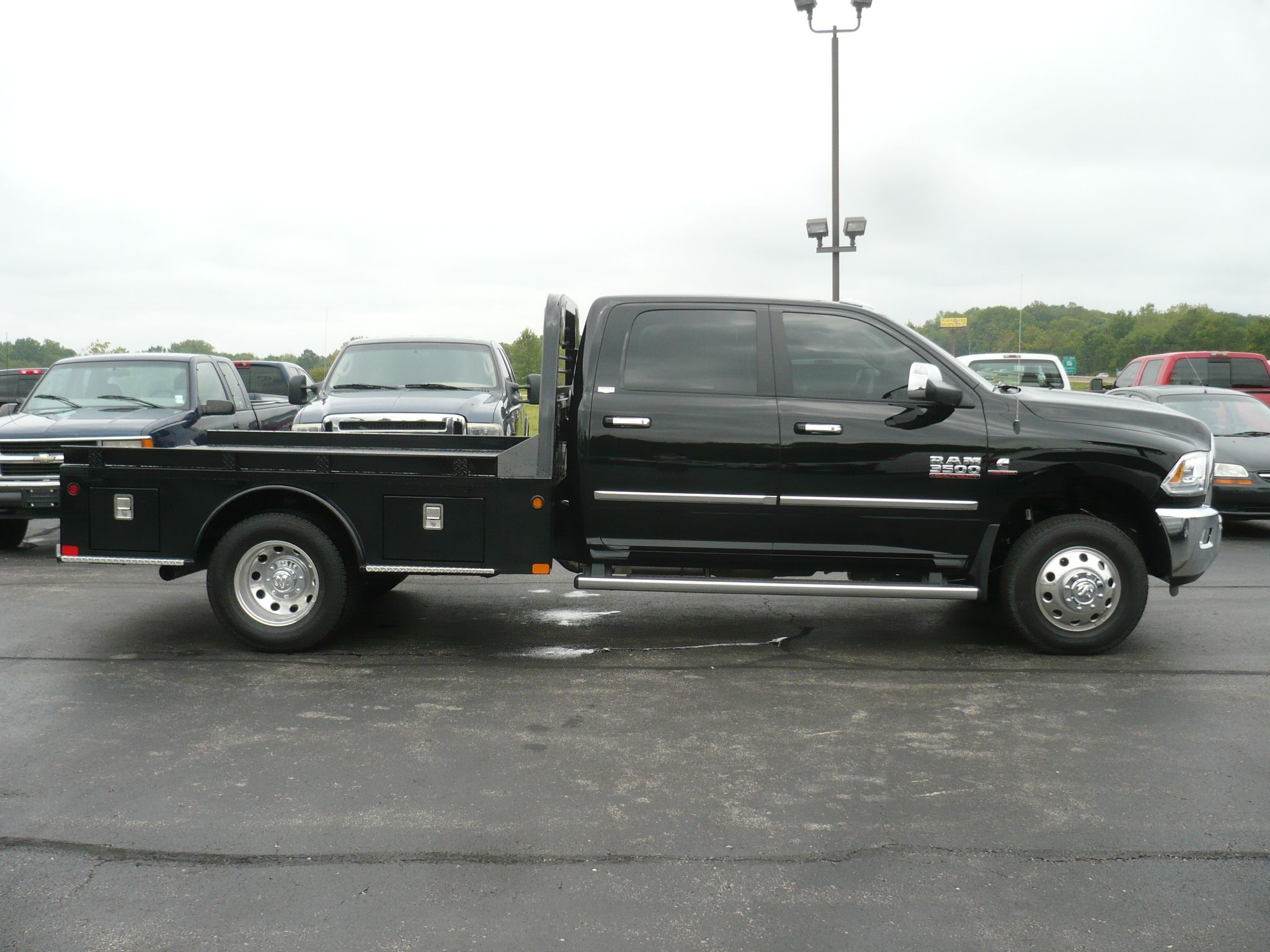 2016 ram with cm sk bed