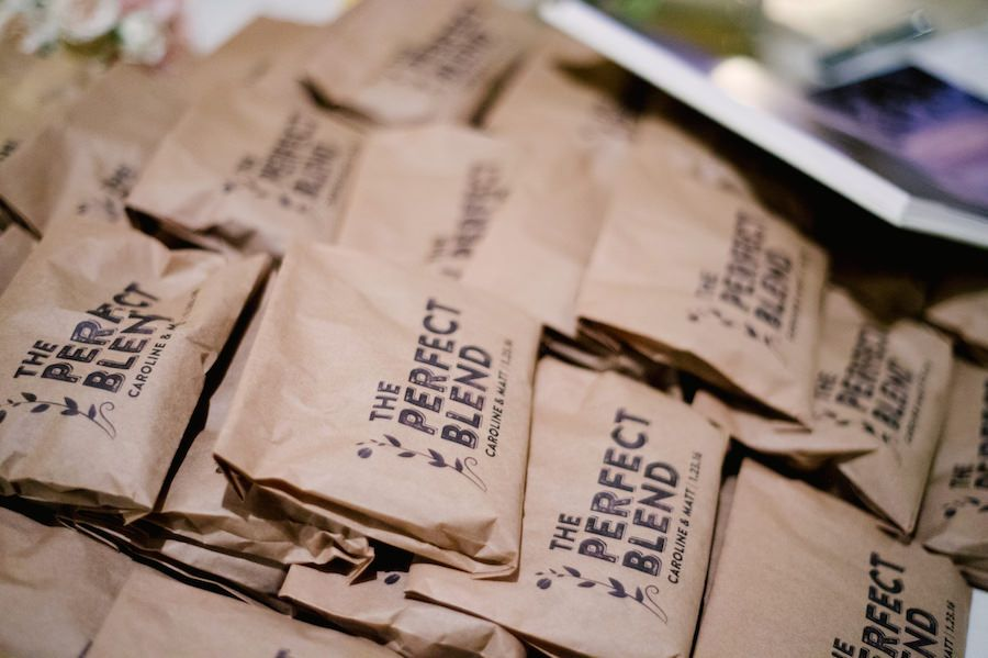 Customized Wedding Favors Coffee Bean Wedding Favors In