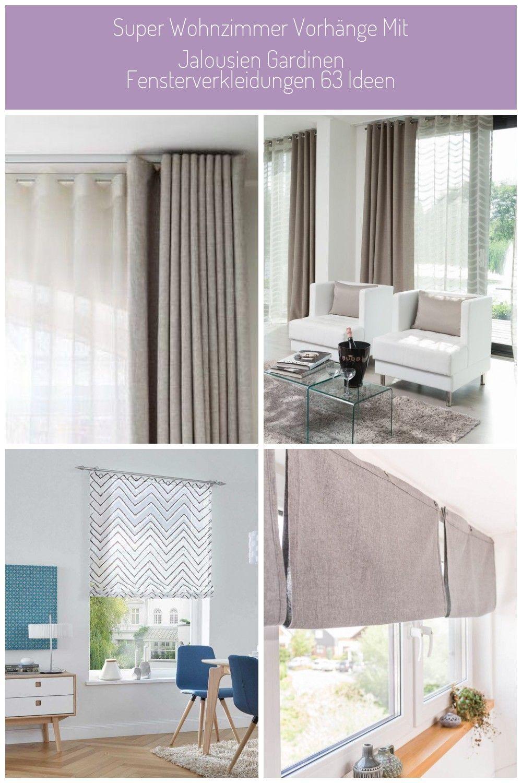 Fensterverkleidungen Gardinen Ideen Jalousien Mit Super
