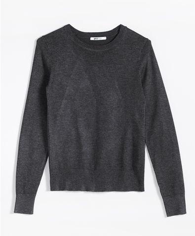 f6e85c62ddfd Frida stickad tröja 149.00 SEK, Stickade tröjor - Gina Tricot | Tops ...