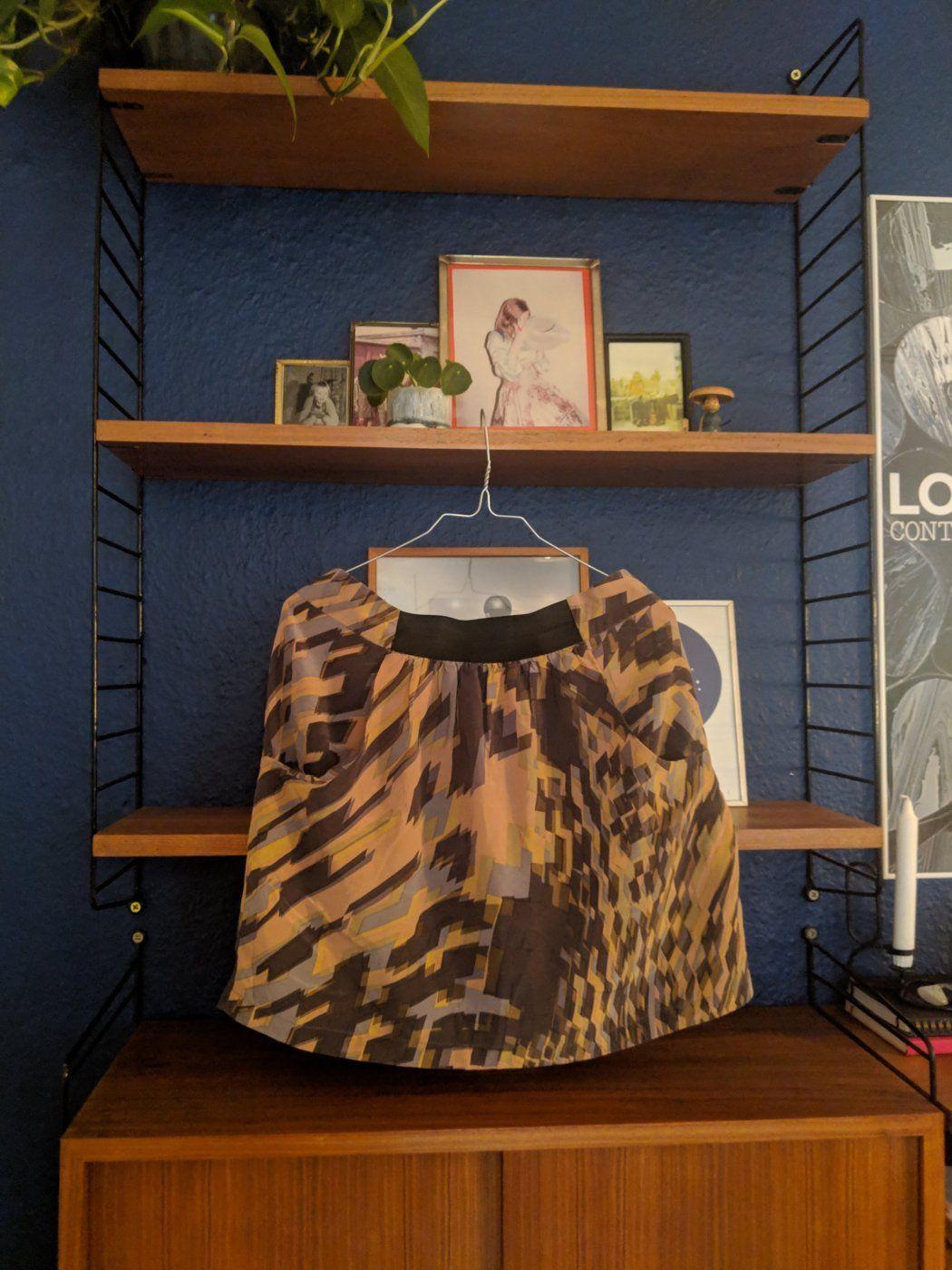 Print Silk Skirt | Mädchenflohmarkt