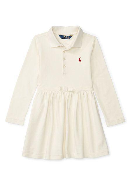 850babd6f3b51 Velvet Bow Stretch Polo Dress | 12 Easy Pieces | Ralph lauren long ...
