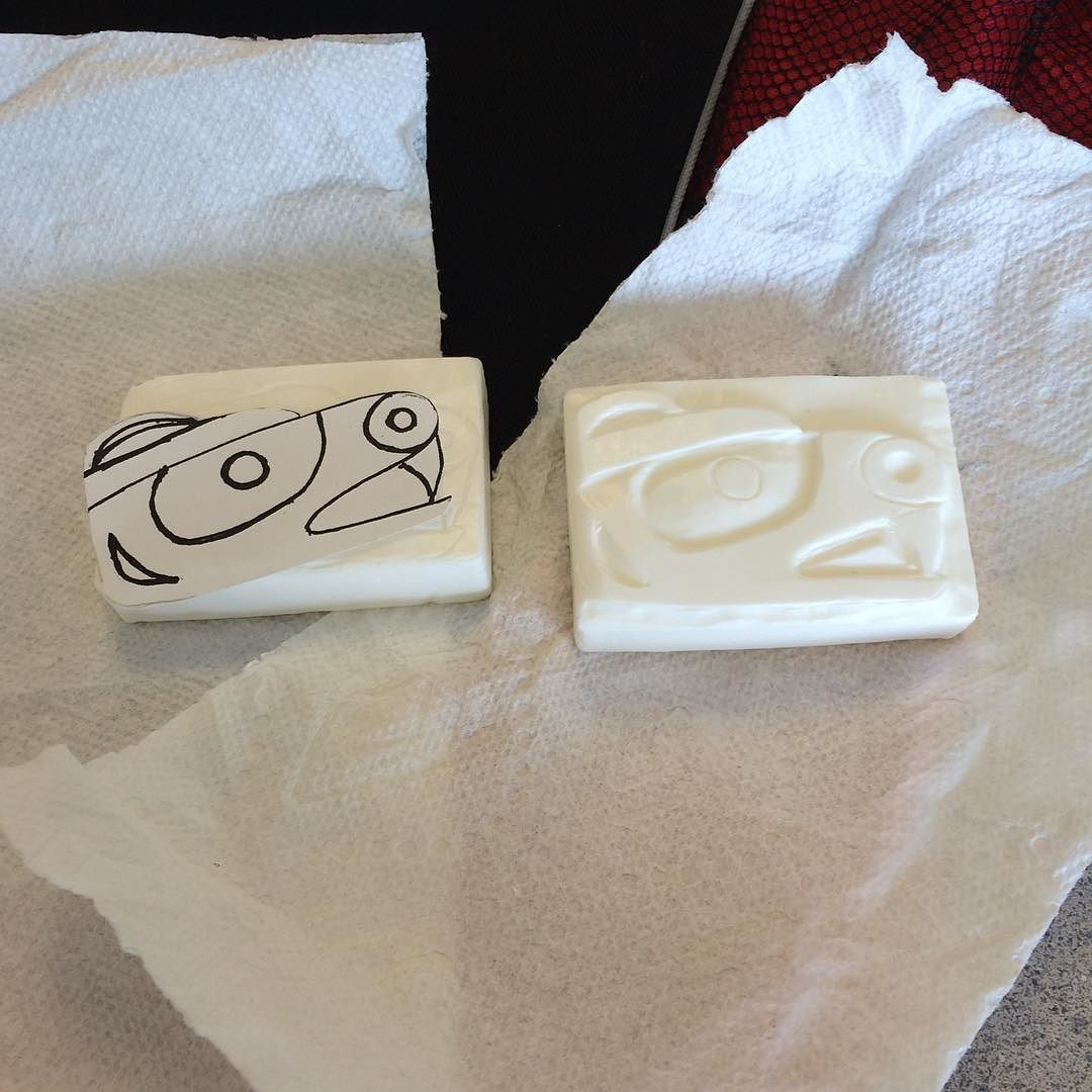 Made up templates for soap carving sessions i do for local schools k