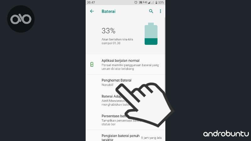 Cara Mengaktifkan Fitur Penghemat Baterai Di Android Baterai Android Aplikasi