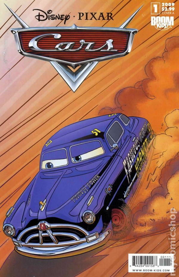 Cars 2009 2nd Series Boom Studios 1a Disney Cover Comics Pixar Cars Disney Pixar Cars Cars Movie