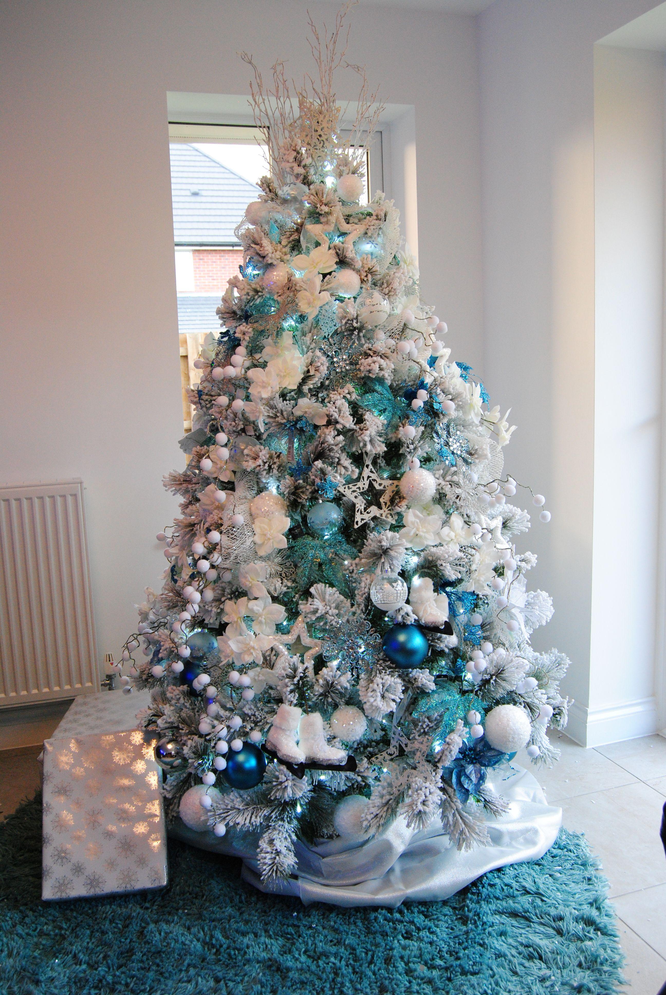 Gee Tee S Uk Silver Christmas Decorations Turquoise Christmas Teal Christmas