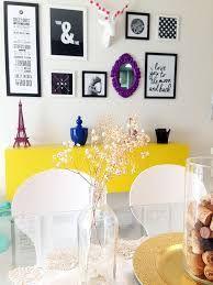 Resultado de imagem para decoração simples na sala com sala de jantar alternativa dark