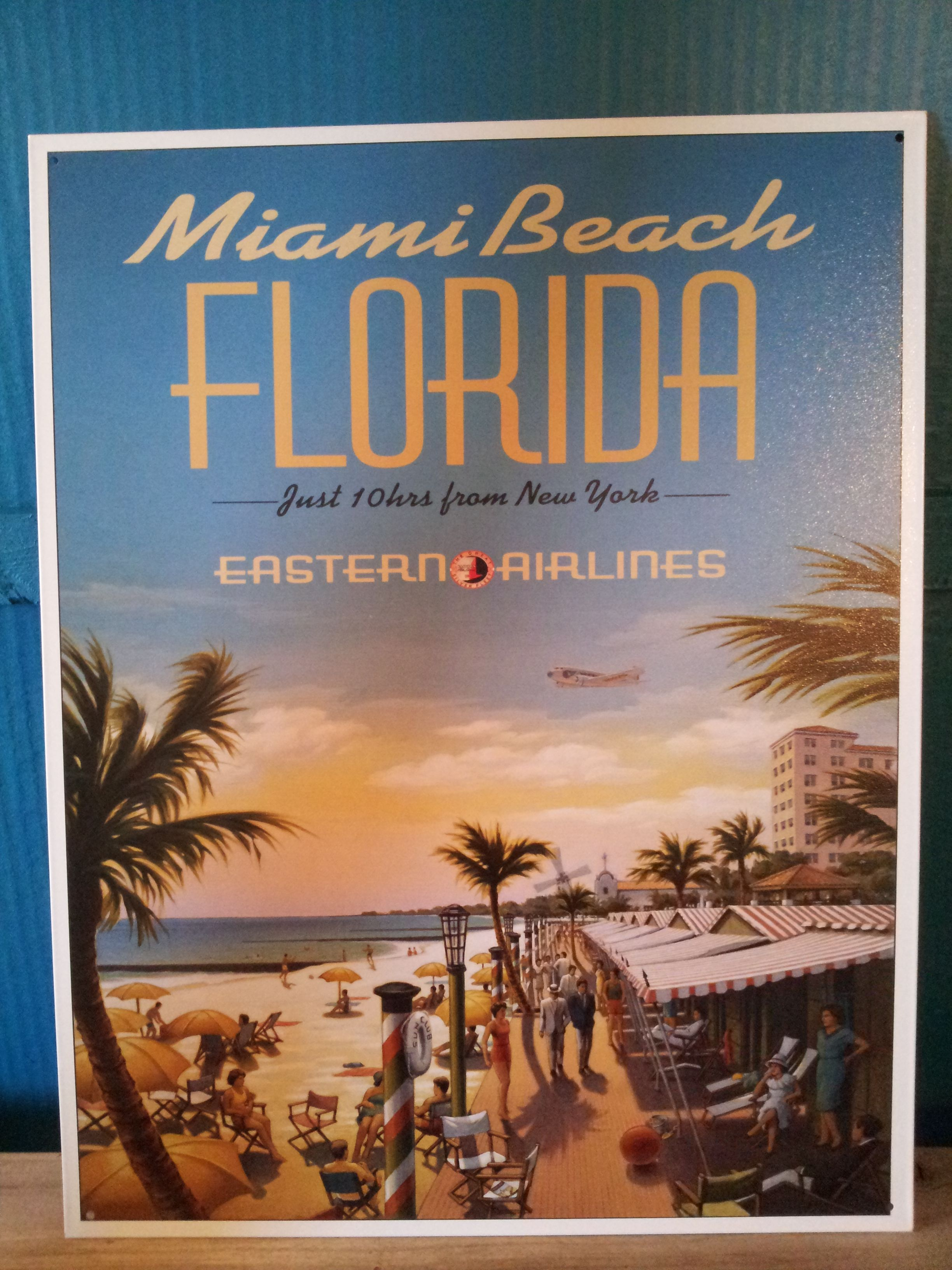 I M Selling This Sign For 20 Obo On Craigslist Measurements Are 16 X 12 You Can Call Or Text Me 36 Florida Poster Beach Posters Vintage Travel Posters