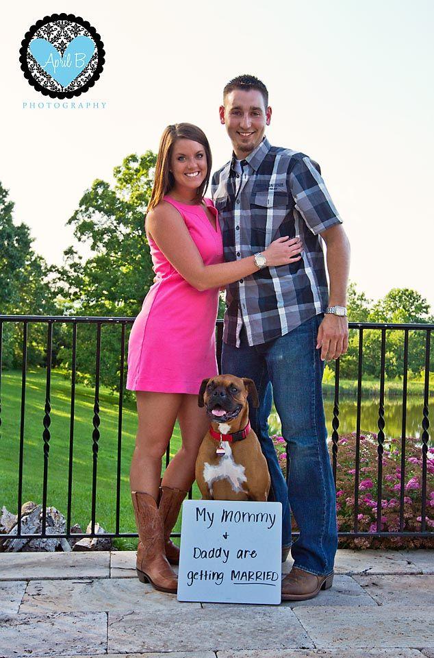 Boxer engagement picture.