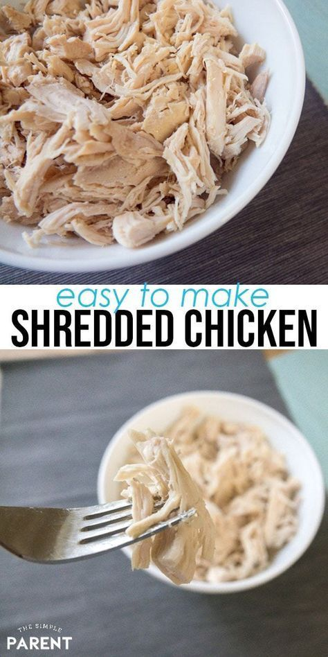 Crockpot shredded chicken is perfect all of your favorite Crockpot chicken recipes! It's healthy and easy to make! Slow cooker shredded chicken is great for tacos, BBQ, chicken salad, and more! #easydinner #slowcookerrecipes #crockpot #chicken #kitchen #shreddedchickentacos Crockpot shredded chicken is perfect all of your favorite Crockpot chicken recipes! It's healthy and easy to make! Slow cooker shredded chicken is great for tacos, BBQ, chicken salad, and more! #easydinner #slowcookerrecipes #shreddedchickentacos