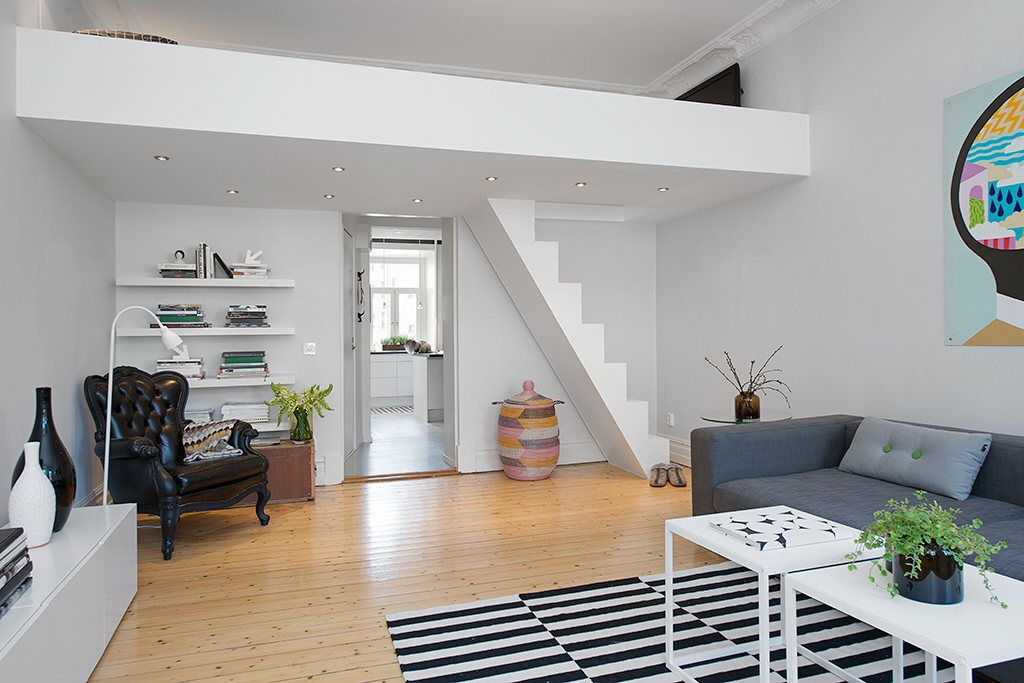 24562 small loft apartment design with 2015 of the century apartment in stockholm sweden with custom built loft on interior design ideas