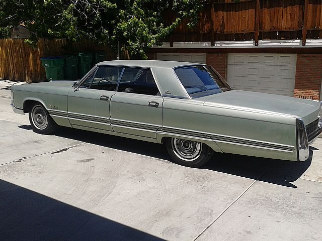1967 Chrysler Crown Imperial For Sale Chrysler Chrysler Cars