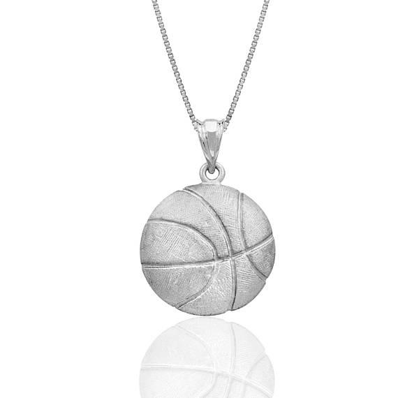 780dd0790 Colgante de collar de baloncesto