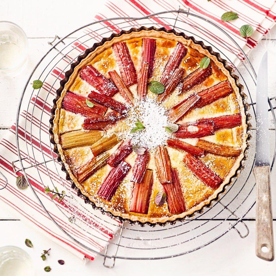 Rhabarber Tarte Rezept Tarte Murbeteigkuchen Und Rezepte