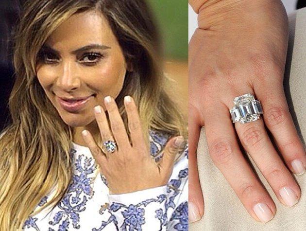 Kim Kardashian Engagement Ring Kanye West 2 Kim Kardashian Engagement Ring Kanye Kim Kardashian Engagement Ring Engagement Rings