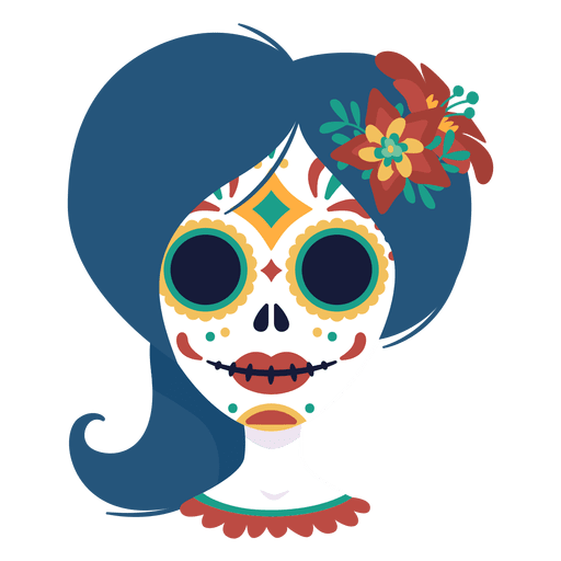 Day Of The Dead Woman Mask Ad Sponsored Ad Dead Woman Mask Day Day Of The Dead Woman Drawing Frames Graphic Image