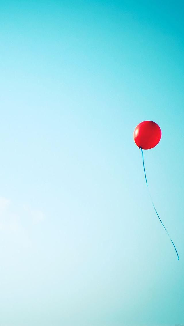 Wallpaper background red balloon sky Wallpapers Pinterest
